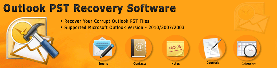 MS Outlook PST Recovery Software